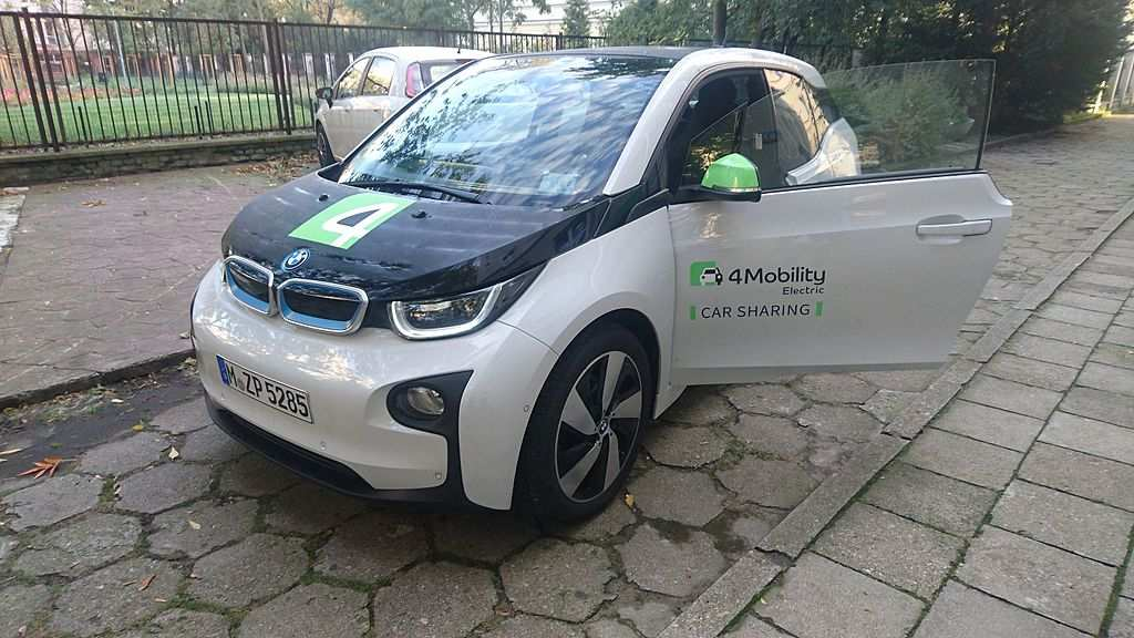 carsharing - BMW i3